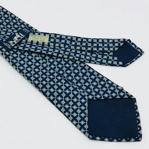 Hermes Accessories - HERMES MICRO CHECKED PATTERN TIE